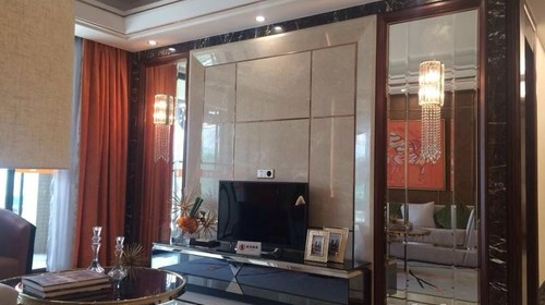龙门裕林豪庭现代风格样板房