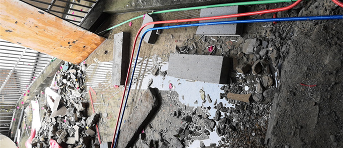 惠州李先生家装修时水电和瓷砖都出了问题,没装修的要注意了