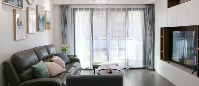 电视背景柜这么装,客厅收纳空间翻倍!