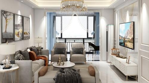 三房两厅现代风格