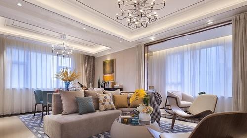 中洲中央公园135/㎡ 三室 现代轻奢风格