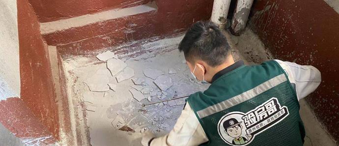 惠州一小区业主拒绝收楼:卫生间没排污管口,这楼怎么收?